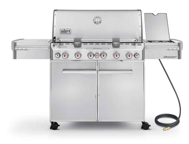 Weber Summit S-670 LP Barbecue Grill