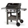 Pollocks Barbecues - Weber Spirit E-310 Black Left Facing