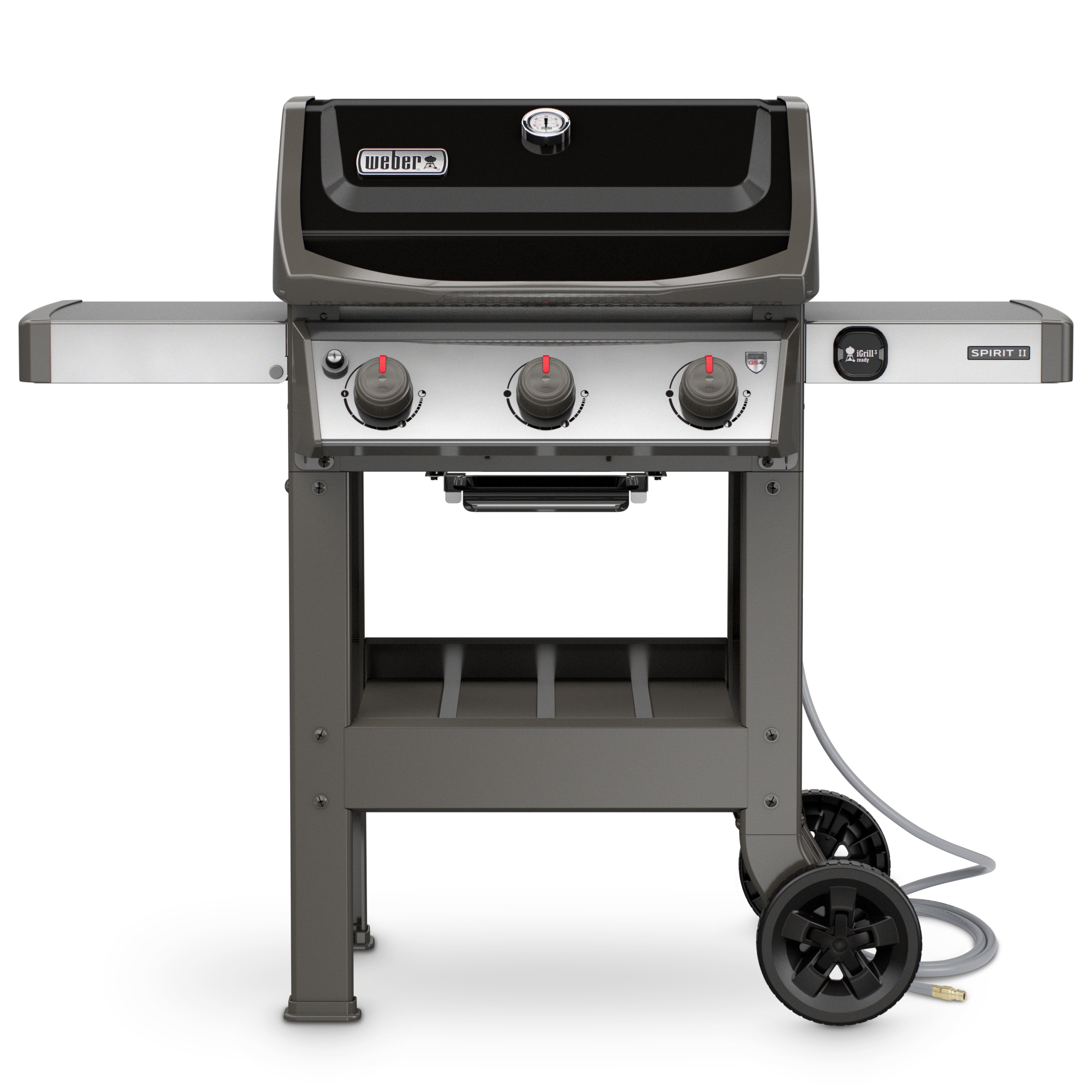 Weber Spirit E-310 Black Barbecue Grill