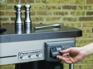 Weber Performer Deluxe Charcoal Grill Feature Facing Right