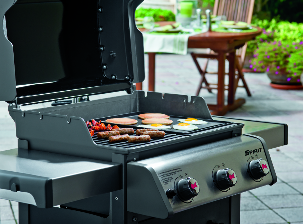 weber spirit e 310 barbecue grill pollocks bbq. Black Bedroom Furniture Sets. Home Design Ideas