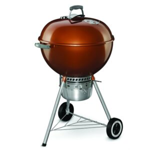 Weber Kettle 22 Premium Charcoal Barbecue Grill (Copper)