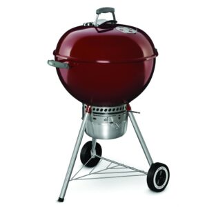 Weber Kettle 22 Premium Charcoal Barbecue Grill (Crimson)