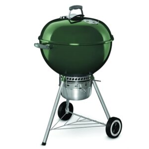 Weber Kettle 22 Premium Charcoal Barbecue Grill (Green)