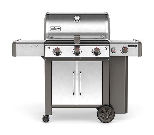 61004001B Weber 2017 Stainless Steel Genesis II LX S-340 LP Product 3 Burner