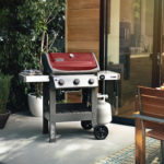 Pollocks Barbecues Weber Spirit II E-310 Red Lifestyle