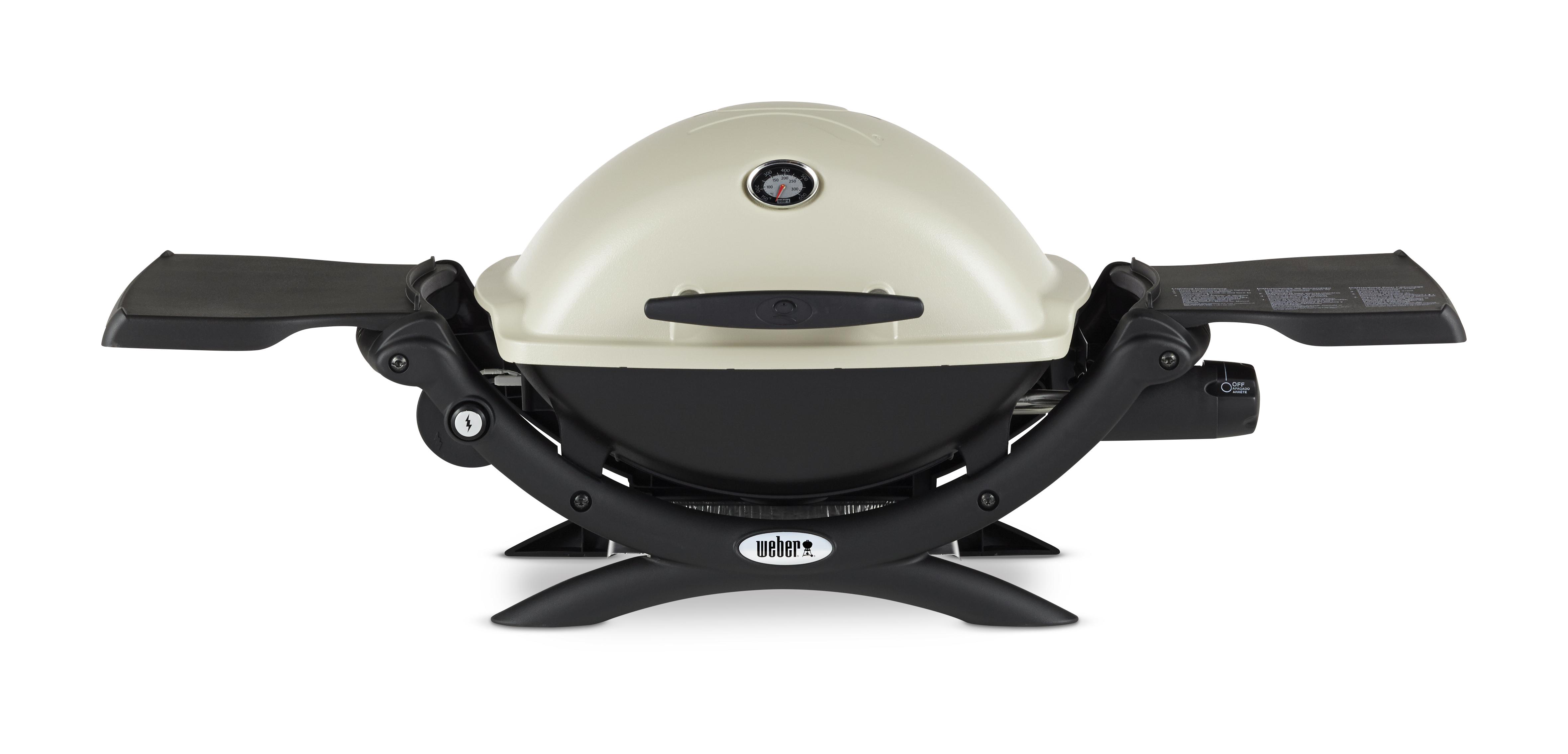 Weber Q 1200 Gas Grill Titanium