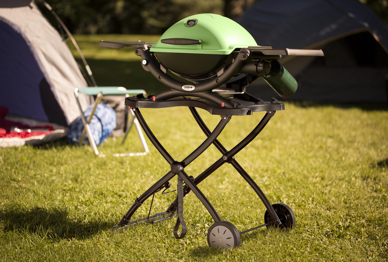 Weber Q 1200 Gas Grill Green