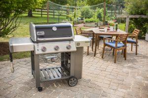 Weber Genesis II E-310 Backyard Setting Pollocks Home Hardware