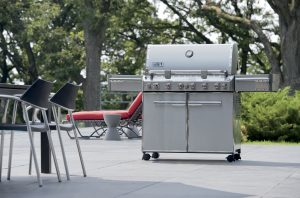 Weber Summit S-670 Barbecue at Poolside Pollocks Home Hardware