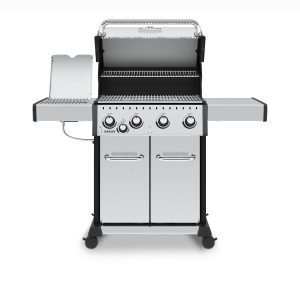 Broil King Baron S 440 Pro IR with lid open
