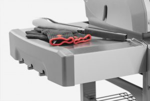 Weber Genesis II E-310 Side Table Open Cart